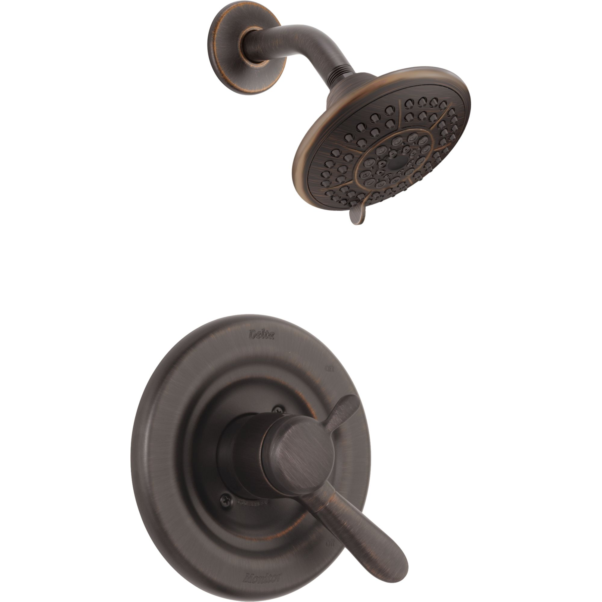 Delta Monitor 13 Series Bath And Shower Faucet With Shower Head Chrome