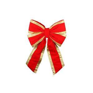 Dyno Outdoor Christmas Bow - 20-in - Red/Gold