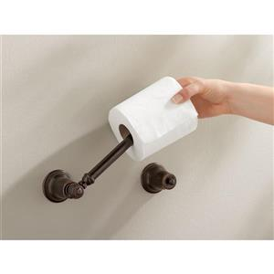 Moen Kingsley Pivoting Paper Holder - Wrought Iron