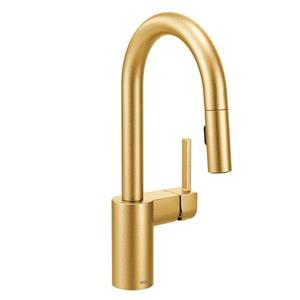 Moen Align Bar Faucet - One-Handle Pulldown -  Brushed Gold