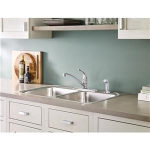 Moen Chateau Kitchen Faucet - One-Handle - Chrome