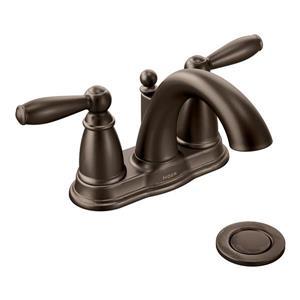 Moen Brantford Bathroom Faucet - Two-Handle - Oil Rubbed Bronze