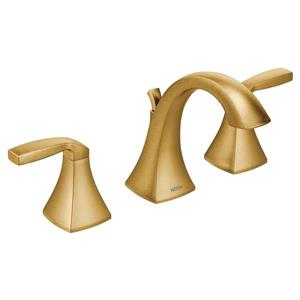 Moen Voss Bathroom Faucet - Two-Handle - Brushed Gold (Valve Sold Separately)