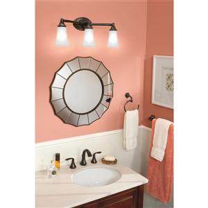 Moen EVA Bathroom Faucet - Two-Handle - Oil Rubbed Bronze (Valve Sold Separately)