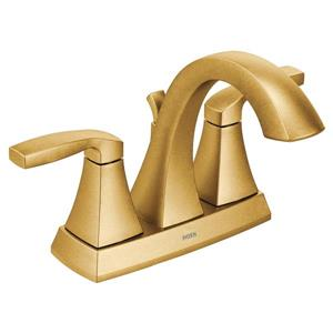 Moen Voss Bathroom Faucet - Two-Handle - Brushed Gold