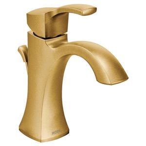 Moen Voss Bathroom Faucet - One-Handle - Brushed Gold