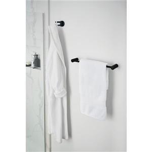 Moen Align 24-in Towel Bar - Matte Black