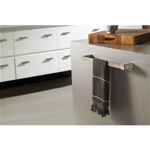 Moen 90 Degree 18-in Towel Bar - Brushed Nickel