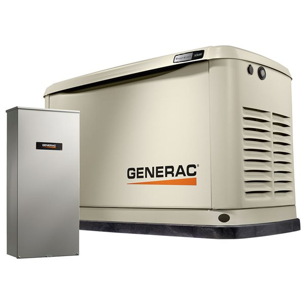 Generac Guardian Series 10kw Standby Generator With Automatic Transfer Switch Lowe S Canada
