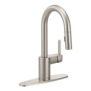 Moen Align Collection Pulldown Bar Faucet - Stainless Steel