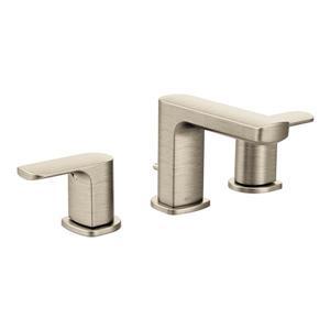 Moen Rizon Bathroom Faucet -  2-Handle - Brushed Nickel (Valve Sold Separately)