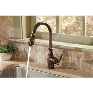Moen Brantford Collection Pulldown Kitchen Faucet - Oil Rubbed Bronze
