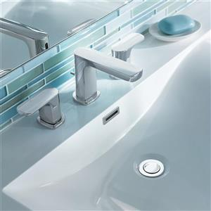 Moen Rizon Bathroom Faucet -  2-Handle - Chrome (Valve Sold Separately)
