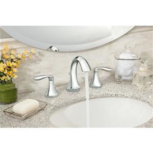 Moen Eva High Arc Bathroom Faucet -  2-Handle - Chrome (Valve Sold Separately)