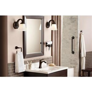 Moen Voss High Arc Bathroom Faucet -  2-Handle - Oil Rubbed Bronze (Valve Sold Separately)
