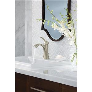 Moen Voss Bathroom Faucet -  1-Handle - Brushed Nickel