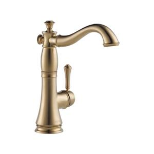 Delta Cassidy Single Handle Bar/Prep Faucet - Champagne Bronze