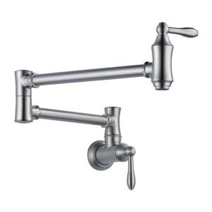 Delta Wall-Mount Pot Filler Faucet - Arctic Stainless