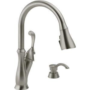 Delta Arabella Pull Down Kitchen Faucet - Stainless Steel