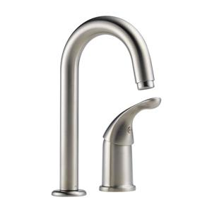 Delta Classic Bar/Prep Faucet - Stainless Steel