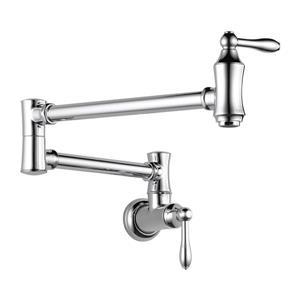 Delta Wall-Mount Pot Filer Faucet - Chrome