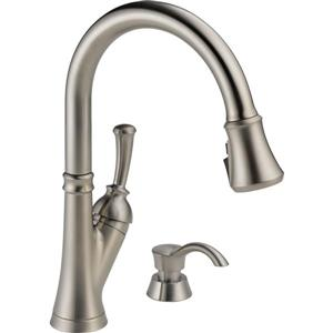 Delta Savile Pull-Down Kitchen Faucet - Stainless Steel