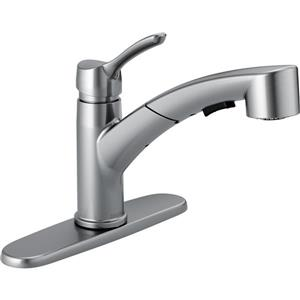 Delta Collins Pull-Out Kitchen Faucet - Arctic Stainless