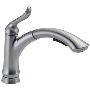 Delta Linden Pull-Out Kitchen Faucet - Arctic Stainless