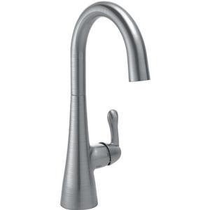 Delta Single Handle Bar/Prep Faucet - Arctic Stainless