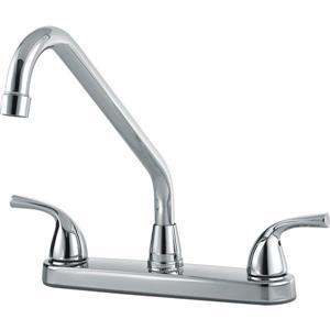 Delta 2-Handle Kitchen Faucet - Chrome