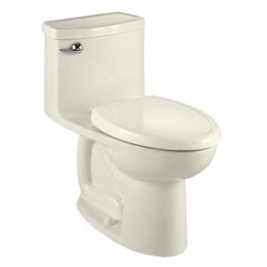 American Standard Compact Cadet 3 Toilet - 1-Piece - Off-White