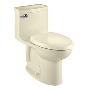 American Standard Compact Cadet 3 Toilet - 1-Piece - Off-White/Beige