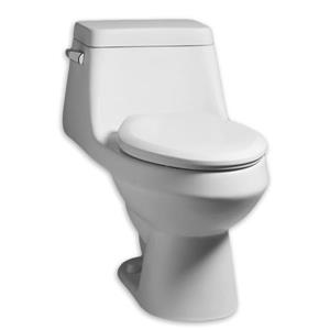 American Standard Fairfield Toilet with Seat - 1-Piece - White