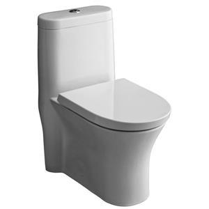 American Standard Cossette Toilet - Dual Flush - White