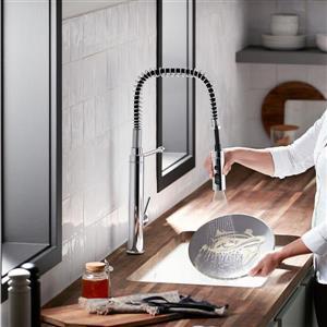 KOHLER Purist High-Arc Kitchen Sink Faucet - 1-Handle - Matte Black