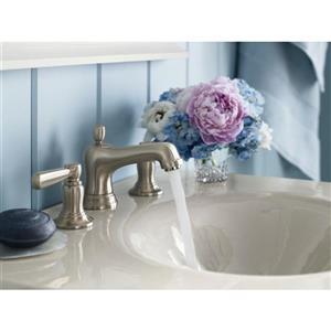 KOHLER Bancroft Bathroom Sink Faucet - 2-Handle - Polished Nickel