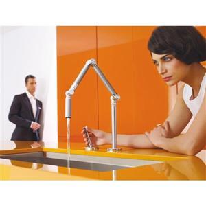 KOHLER Karbon Kitchen Sink Faucet - 1-Handle - Stainless Steel