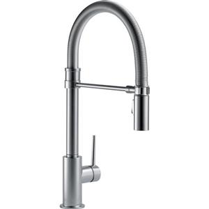 Delta Trinsic Kitchen Faucet - 18.75-in. - 1-Handle - Arctic Stainless