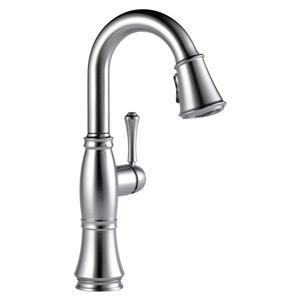 Delta Cassidy Bar and Prep Faucet - 14.5-in. - 1-Handle - Arctic Stainless
