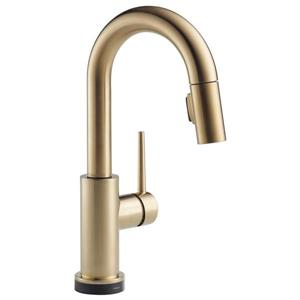 Delta Trinsic Touch2O(R) Bar and Prep Faucet - 13-in. - Champagne Bronze