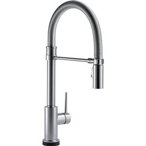 Delta Trinsic Kitchen Faucet - 19.5-in. - 1-Handle - Arctic Stainless