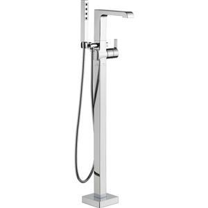 Delta Ara Freestanding Bathtub Faucet - 8.19-in. - Chrome