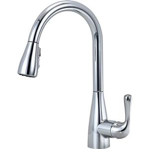 Delta Marley Kitchen Faucet - 15-in. - 1-Handle - Chrome