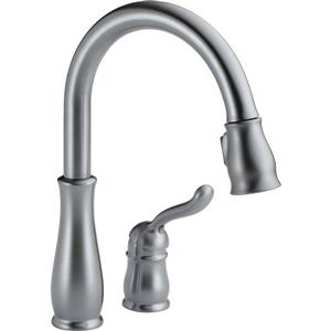 Delta Leland Kitchen Faucet - 14.25-in. - 1-Handle - Arctic Stainless