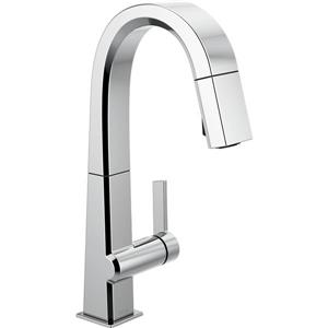 Delta Pivotal Bar and Prep Faucet - 14.31-in. - 1-Handle - Chrome