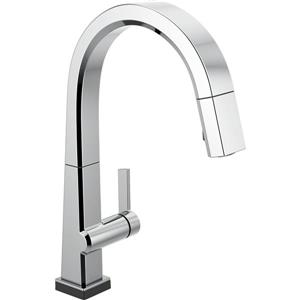 Delta Pivotal Kitchen Faucet - 16-in. - 1-Handle - Chrome