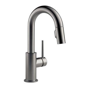 Delta Trinsic Bar and Prep Faucet - 13-in. - 1-Handle - Black Stainless