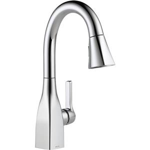 Delta Mateo Bar and Prep Faucet - 14.5-in. - 1-Handle - Chrome
