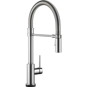 Delta Trinsic Kitchen Faucet - 19.5-in. - 1-Handle - Chrome