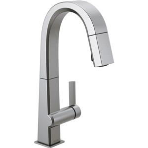 Delta Pivotal Bar and Prep Faucet - 14.31-in. - 1-Handle - Arctic Stainless